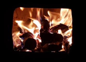 feu cuisiniere a bois